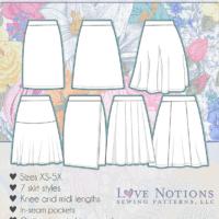 Sybil Illusion Skirt Collection