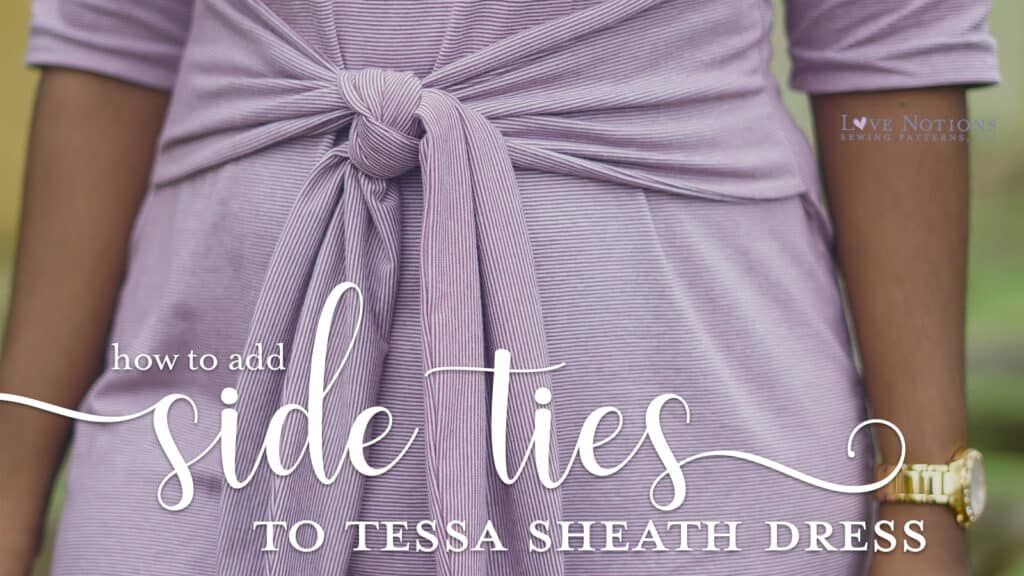tessa side ties