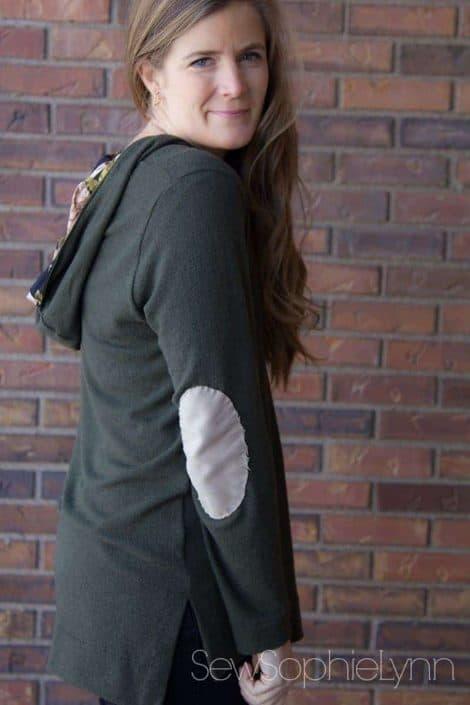 Terra Tunic v-neck hoodie