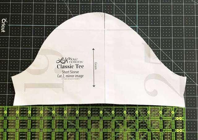 Classic Tee Button Cuff Sleeve