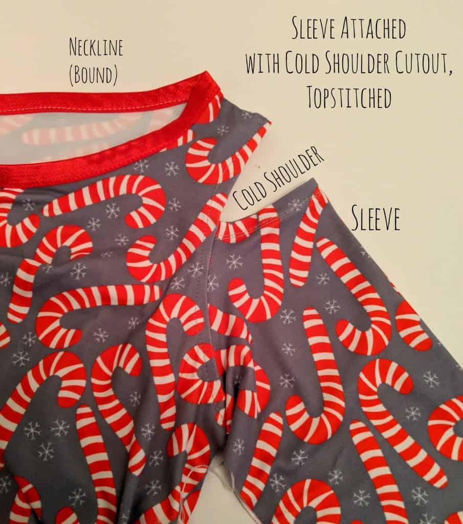 Cold shoulder pattern hack