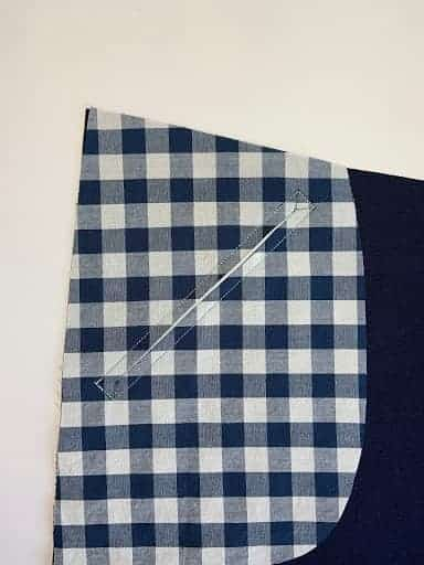 zipper welt pocket tutorial