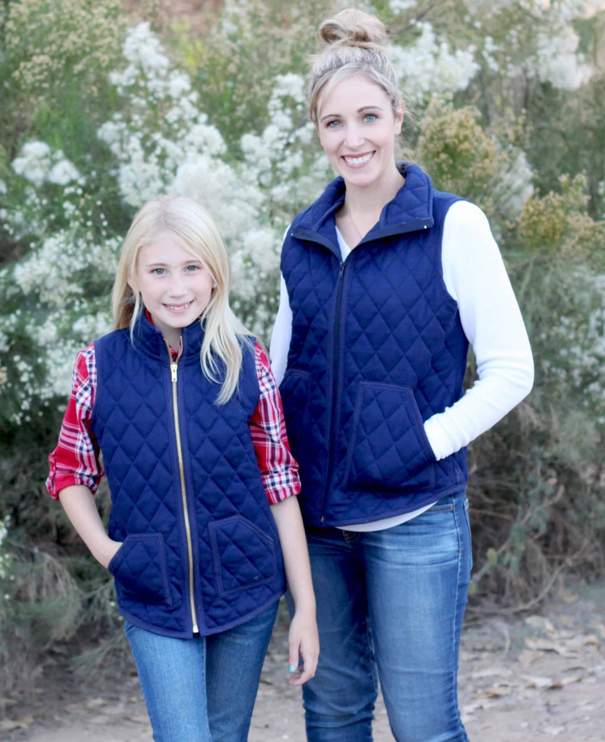 girls and ladies vest