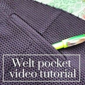 welt pocket video tutorial