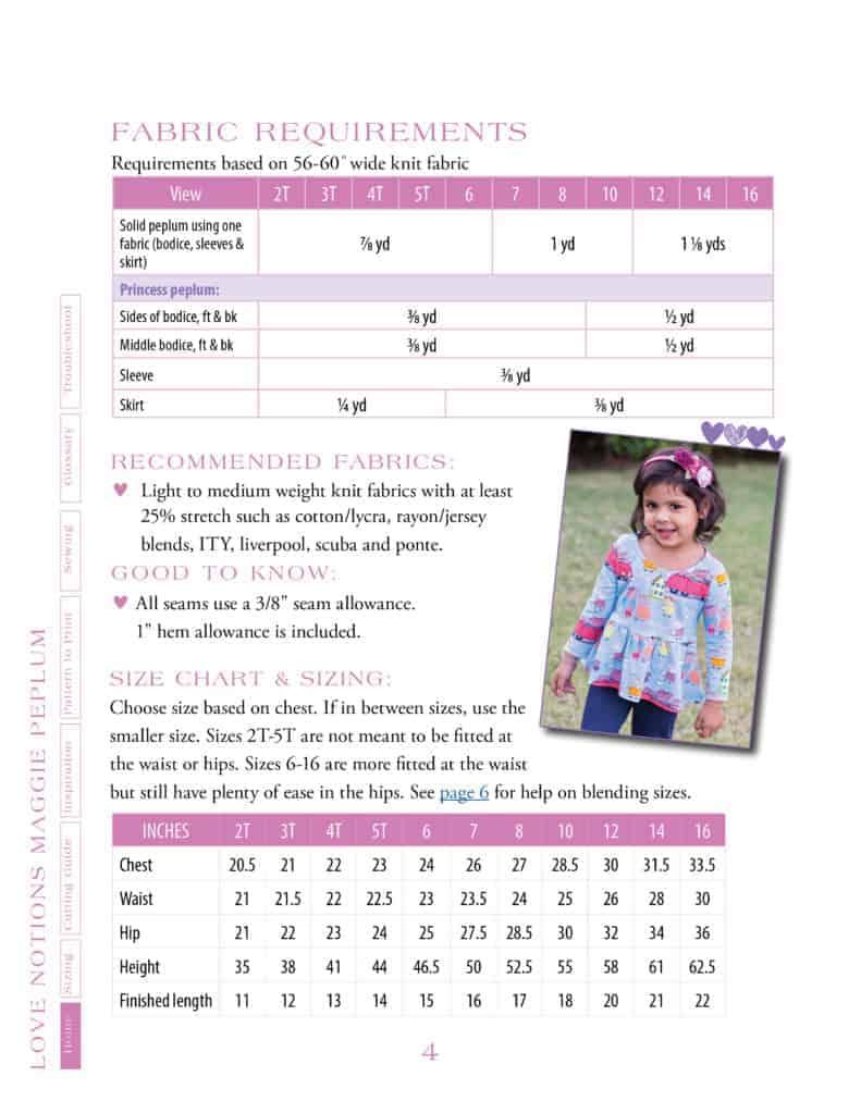 girls-peplum-chart